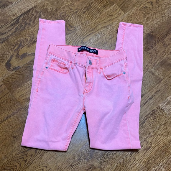 Express Coral Jeans